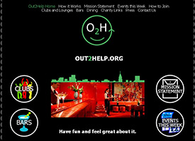OuttoHelp.org Web Design